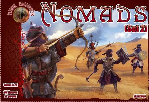 Image 0 of Dark Alliance 1/72 Nomads Set #2 Figures 72049