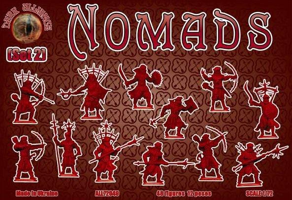 Image 1 of Dark Alliance 1/72 Nomads Set #2 Figures 72049