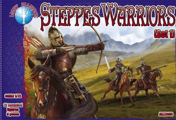 Image 0 of Dark Alliance 1/72 Steppes Warriors Mounted Set 1 75051