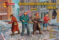 Mars 1/72 WWII German Volksstrum Defenders Figures Set 72117