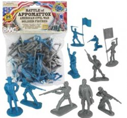 BMC American Civil War 54mm Battle of Appomattox Soldiers Set 40028