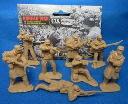 Classic Toy Soldiers 1/32 Korean War North Korean Infantry Set 179