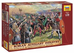 Zvezda 1/72nd Ancients Roman Auxiliary Infantry I-II AD Soldiers Set 8052
