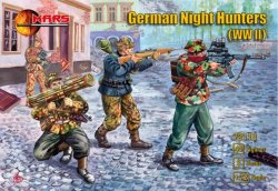 Mars 1/72 World War II German Night Hunters Soldiers Set 72118