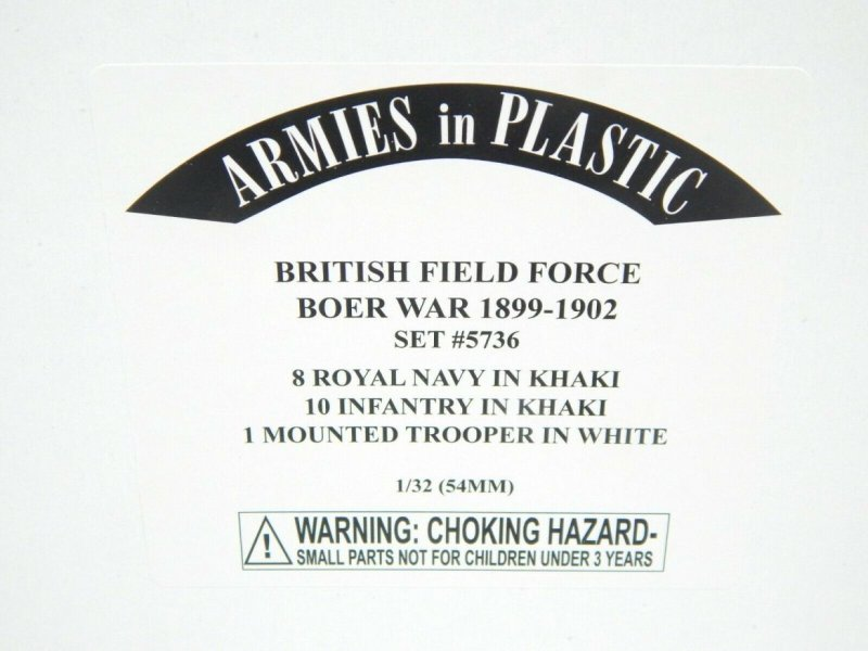 Image 0 of Armies In Plastic 1/32 British Field Force Boer War 1899 To 1902 Combo Set 5736