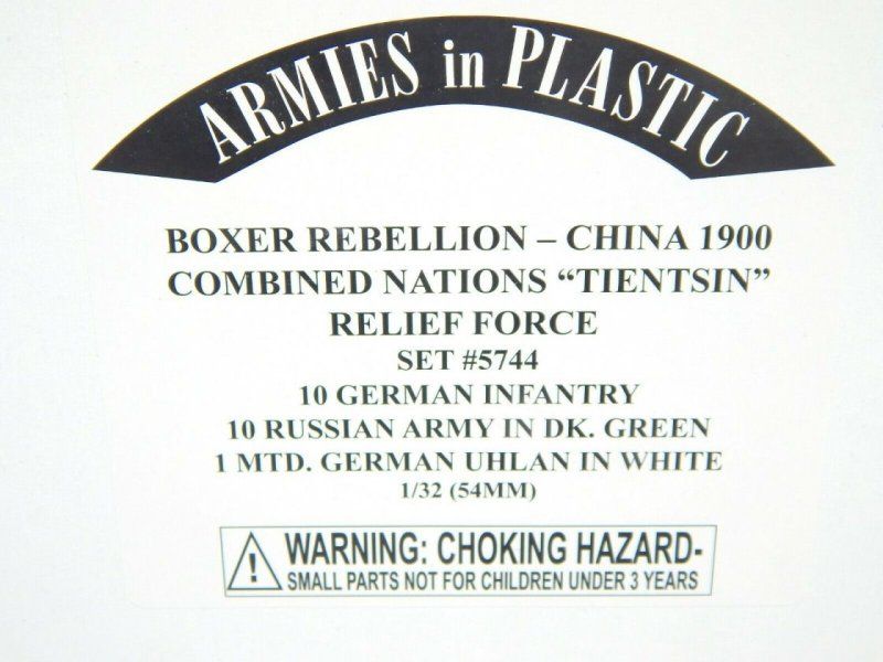 Image 0 of Armies In Plastic 1/32 Boxer Rebellion China 1900 Combine Nation Relief Set 5744