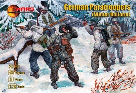 Image 0 of Mars 1/72 World War II German Paratroopers Winter Uniform Set 72121