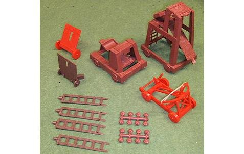 Image 0 of MPC Medieval Castle Siege Equipment Set