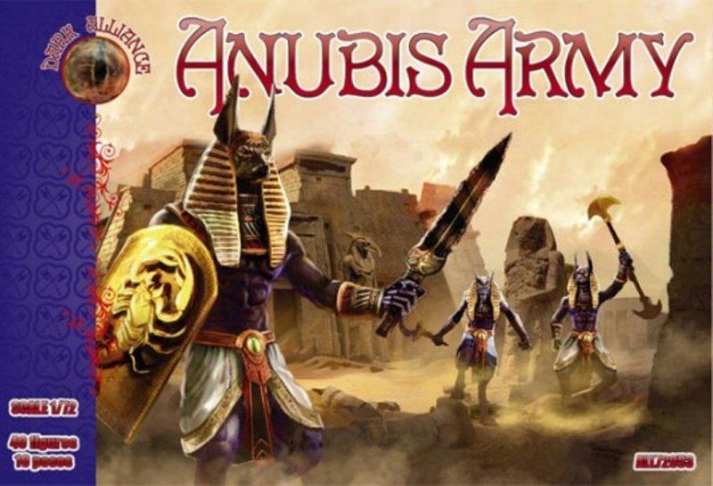 Image 0 of Dark Alliance 1/72 Fantasy Anubis Egyptian Figures Set 72053