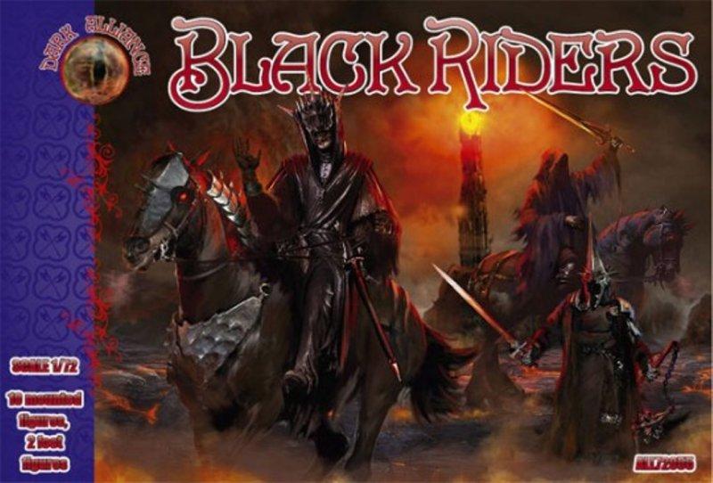 Image 0 of Dark Alliance 1/72 Fantasy Dark Riders LOTR Figures Set 75055