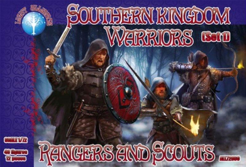 Image 0 of Dark Alliance 1/72 Fantasy Southern Kingdom Rangers LOTR Set 72060