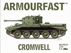 Armourfast 1/72nd Scale WWII British Cromwell Tank Kit # 99013