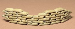 Tamiya 1/35th Scale Sandbags Model Kit # 35025