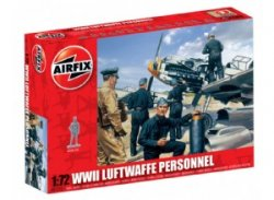 Airfix 1/72nd Scale WWII German Luftwaffe Personnel Figures Set