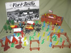 TSD FORT BRAVO American West Limited Edition Playset