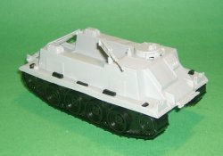 MPC Recast Grey Plastic Armored Personnel Carrier