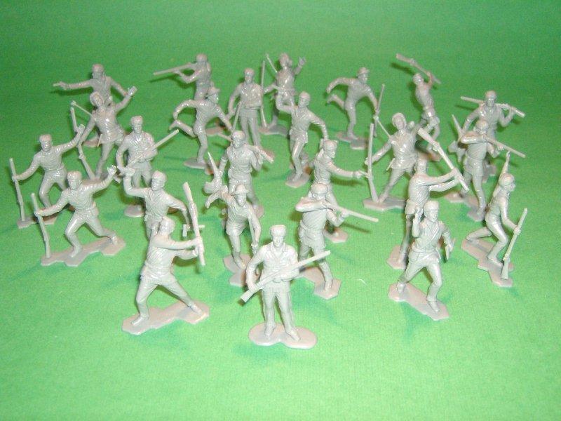 Marx Boonesboro Figures