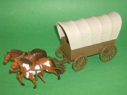 '.New Ray Covered Wagon.'