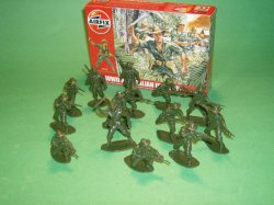 1/32nd Scale Airfix World War II Australian Infantry Plastic Soldiers Set