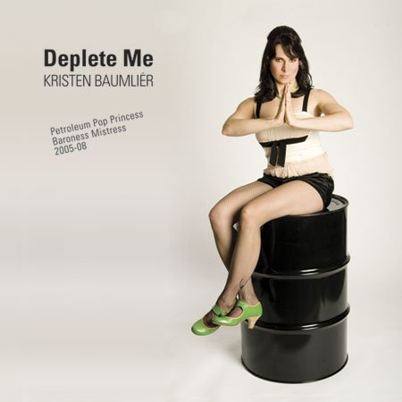 Deplete Me CD back