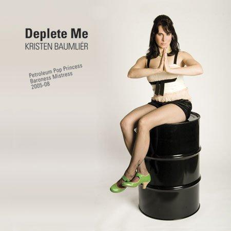 Deplete Me CD back