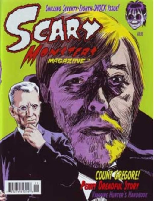 Scary Monsters 78 cover art