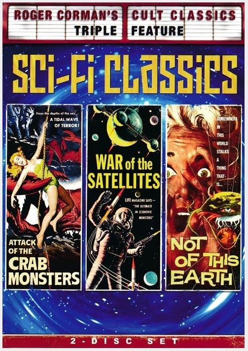 Corman Sci-Fi Classics DVDs