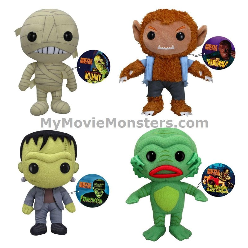 Funko Movie Monsters Plushies