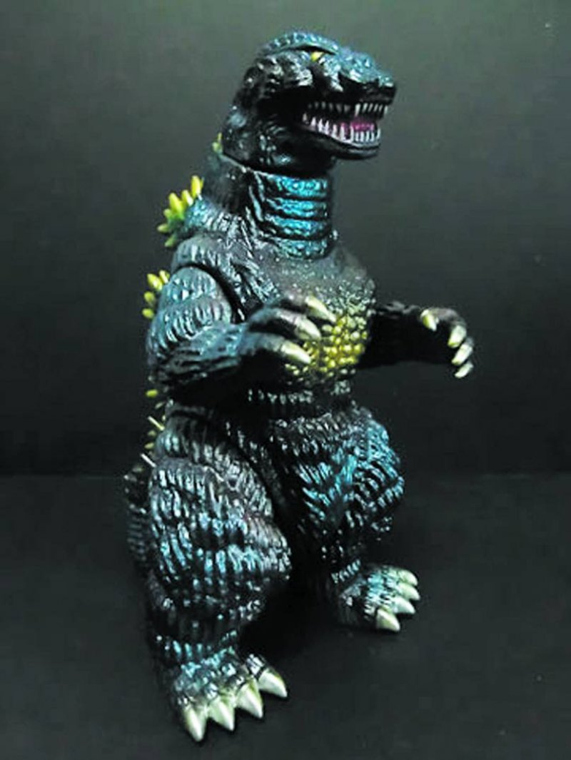 Retro Godzilla 1991 9in figure