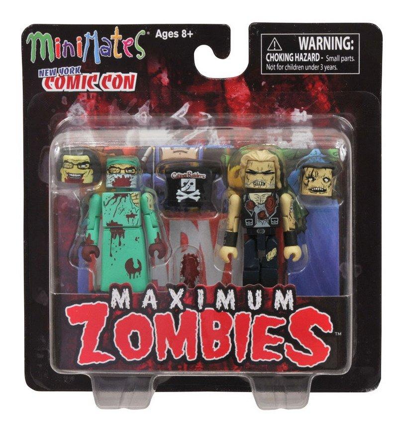 Minimates Maximum Zombies back