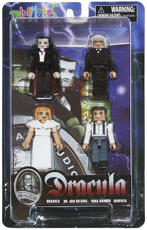 Minimates Dracula and fiends