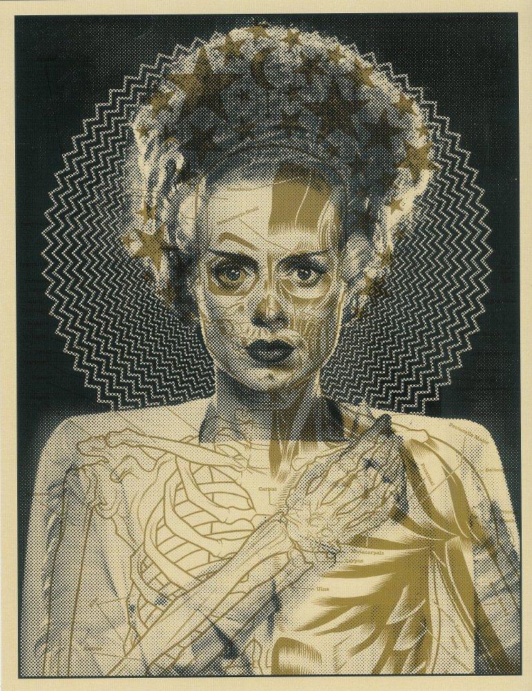 The Monster Art Print