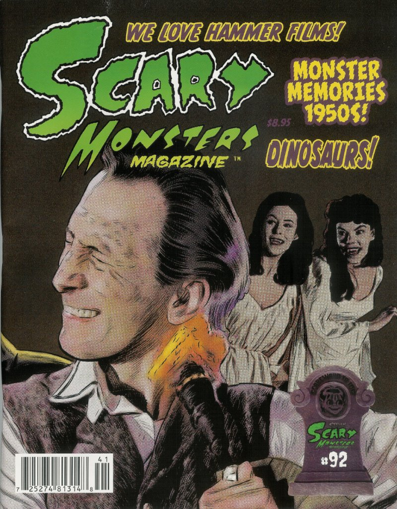 Scary Monsters #92 back cover