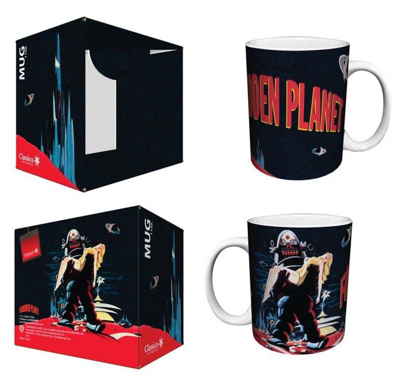 Forbidden Planet Mug in box