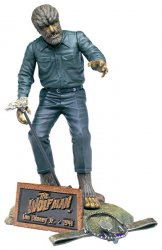 Thumbnail of Sideshow Collectibles Lon Chaney Jr as the Wolf Man 8 inch figure