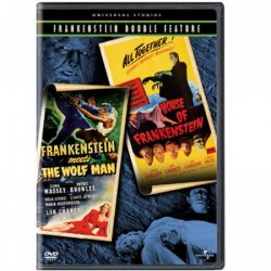 Thumbnail of Frankenstein Meets the Wolf Man / House of Frankenstein DVD New Sealed