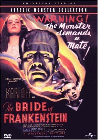 Bride of Frankenstein DVD
