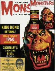 Thumbnail of Famous Monsters of Filmland magazine FM #6 reissue NEW UNCIRCULATED
