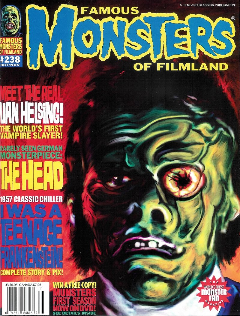 Famous Monsters #238 2nd prtng