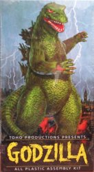Thumbnail of Aurora Godzilla Model Kit (2000 reissue) Toho Factory Sealed