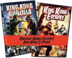 Thumbnail of King Kong vs. Godzilla / King Kong Escapes DVD 2-Pack New Sealed