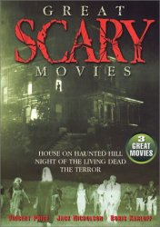 Thumbnail of Great Scary Movies - Karloff - Price - Nicholson DVD New Sealed