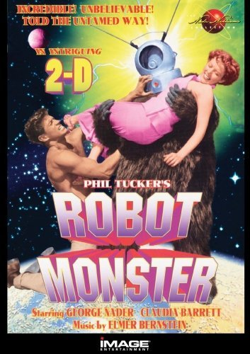 Robot Monster DVD