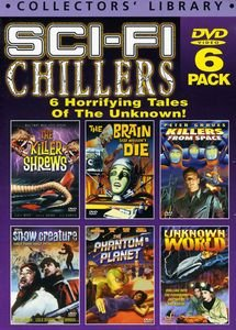 Sci-Fi Chillers 6-DVD Set