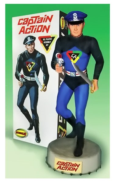 Captain Action 40th Anniv box
