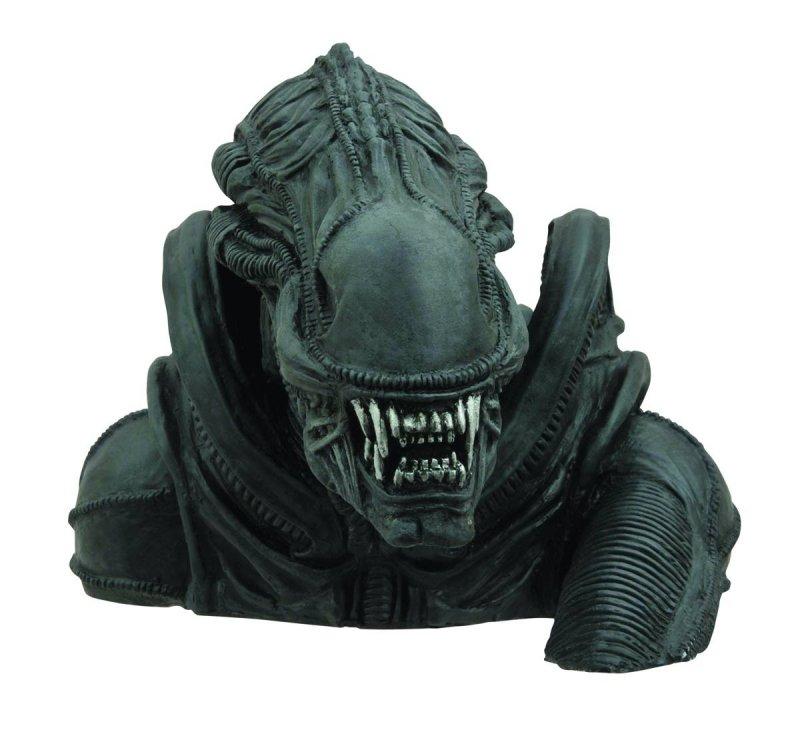 Aliens Alien Bust Coin Bank