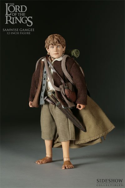 Sideshow Samwise Gamgee Lord Of The Rings Lotr Hobbit 9 Figure