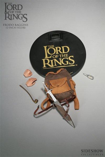 Sideshow Frodo display box