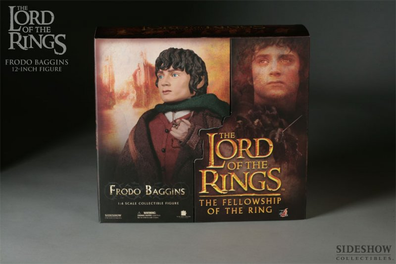 Sideshow Frodo display box