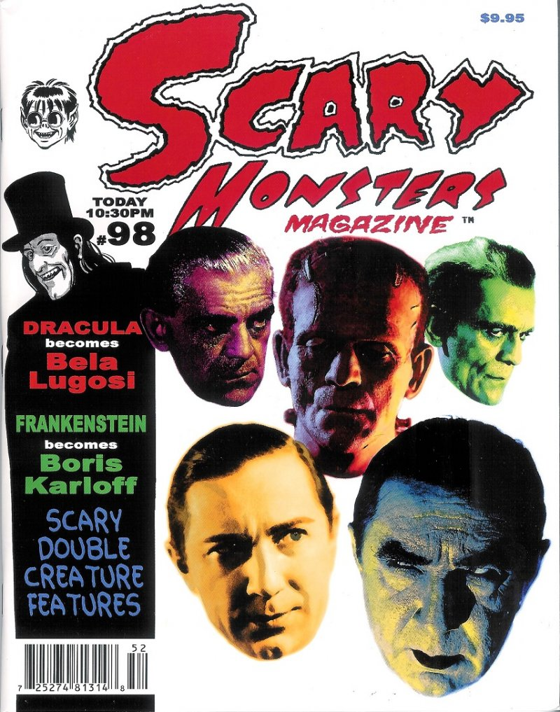 Scary Monsters magazine #98